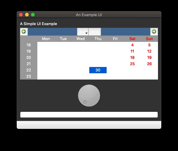 Example App in Dark Mode —PyQt 5.10, it ain't pretty.