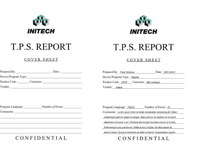 TPS Report