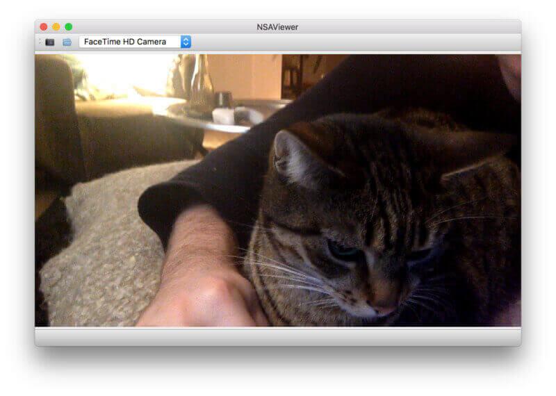 NSAViewer, desktop Photobooth