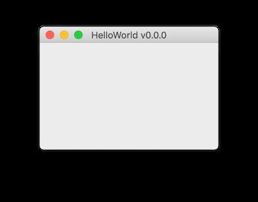 Hello World App on Mac