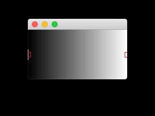 Initial state of the gradient designer